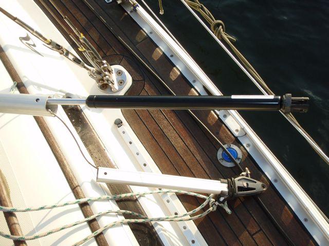Rodkick does not hold the boom up - myHanse - Hanse Yachts